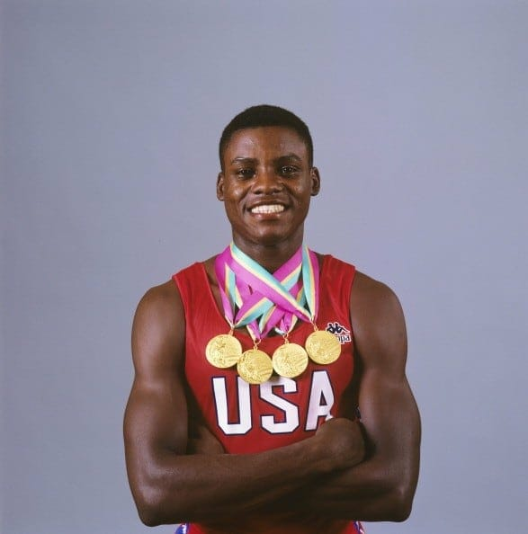 carl lewis is a fan of the sensory deprivation